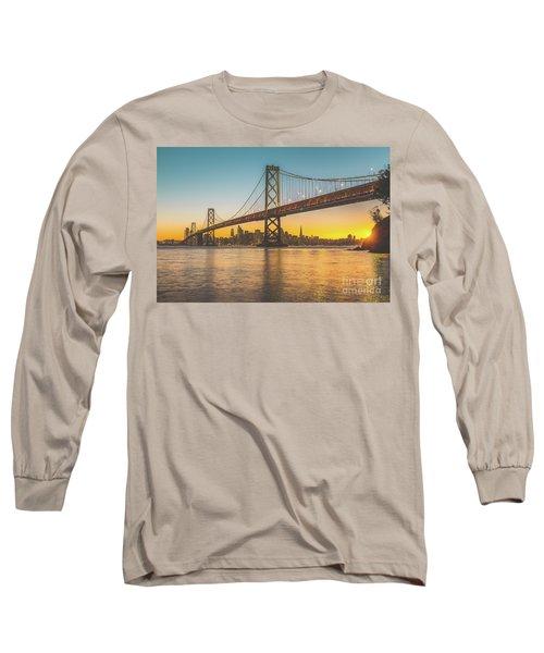 Golden San Francisco Long Sleeve T-Shirt by JR Photography