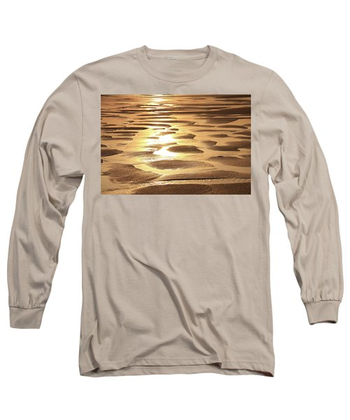 Long Sleeve T-Shirt featuring the photograph Golden Sands by Roupen  Baker