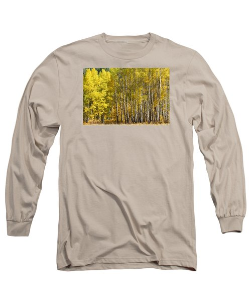 Golden Long Sleeve T-Shirt
