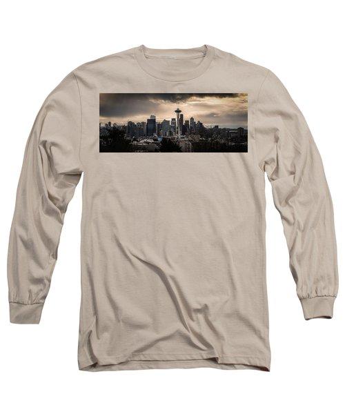 Golden Sky Seattle Long Sleeve T-Shirt