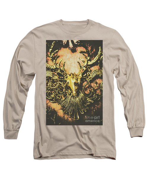 Golden Stag Long Sleeve T-Shirt