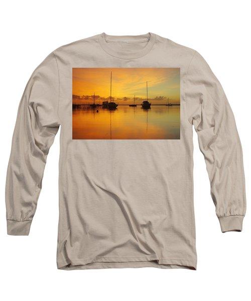 Golden Sunrise At Boreen Point Long Sleeve T-Shirt