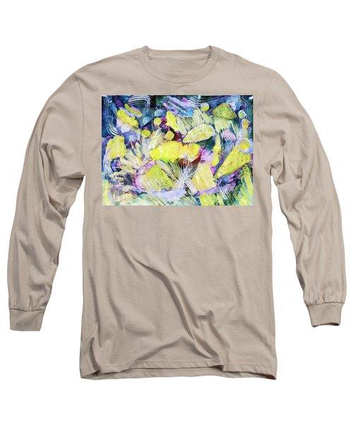 Golden Swirls Long Sleeve T-Shirt