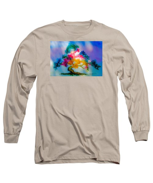Da183 Golden Tree Daniel Adams Long Sleeve T-Shirt