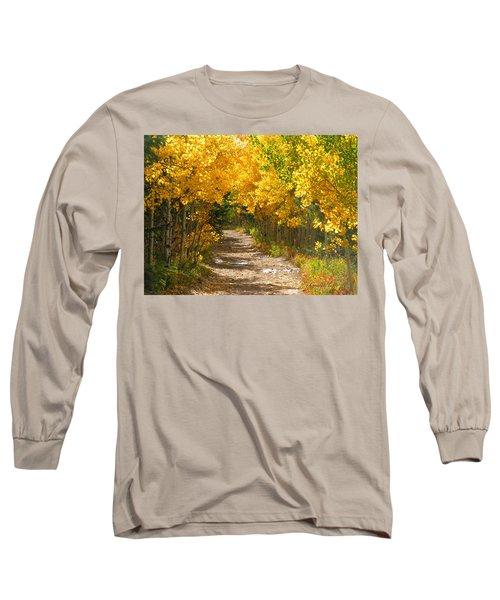 Golden Tunnel Long Sleeve T-Shirt