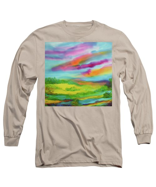 Escape From Reality Long Sleeve T-Shirt by Susan D Moody