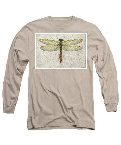 Golden Winged Skimmer Long Sleeve T-Shirt