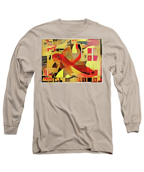Goldfish #1 Long Sleeve T-Shirt