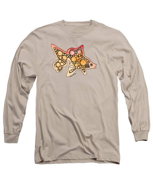Goldfish Long Sleeve T-Shirt by Petra Stephens