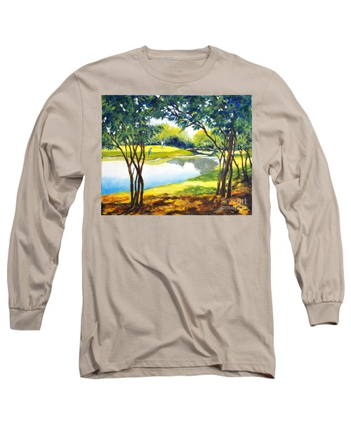 Golf Haven Long Sleeve T-Shirt by Betty M M Wong