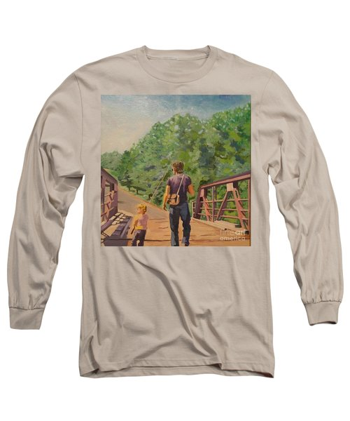 Gone Fishing With Dad Long Sleeve T-Shirt