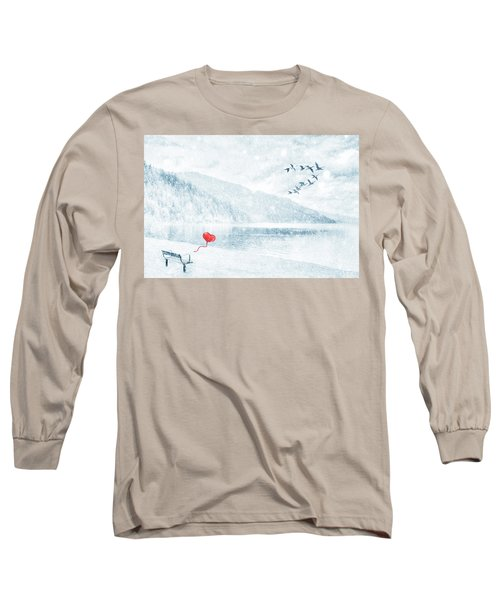 Gone Long Sleeve T-Shirt by Iryna Goodall