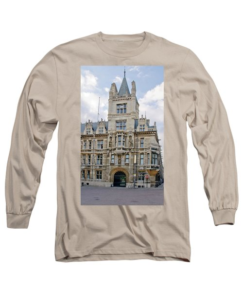 Gonville And Caius College. Cambridge. Long Sleeve T-Shirt