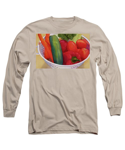 Good Eats Long Sleeve T-Shirt by Judy Mercer