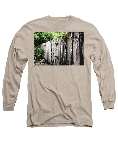 Good Fences, Good Neighbors Long Sleeve T-Shirt