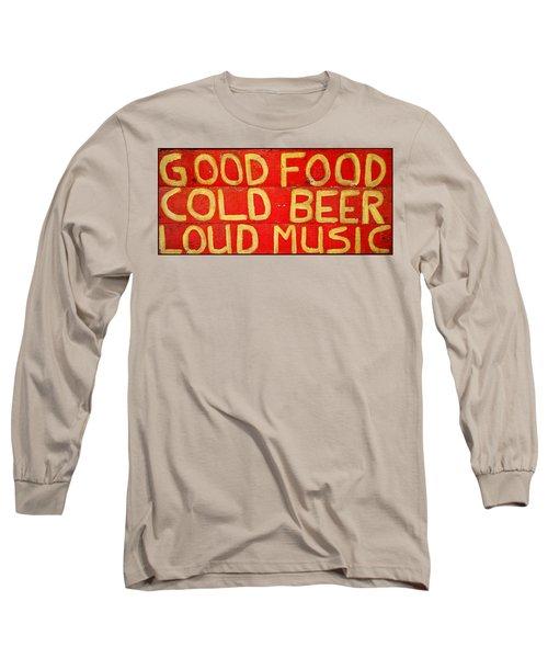Good Food Long Sleeve T-Shirt