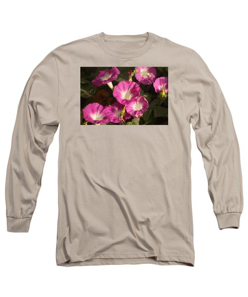 Long Sleeve T-Shirt featuring the photograph Good Morning, Glory by Sheila Brown
