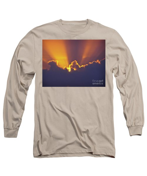 Long Sleeve T-Shirt featuring the photograph Good Night Sunshine by Terri Waters