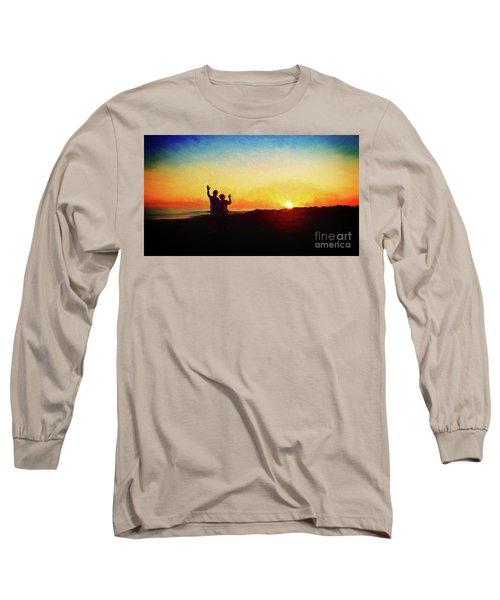 Goodnight Mr. Sun  Long Sleeve T-Shirt