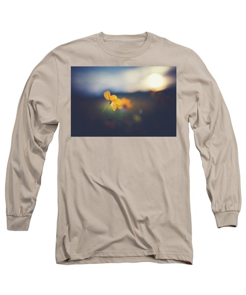 Long Sleeve T-Shirt featuring the photograph Goodnight Sun by Shane Holsclaw
