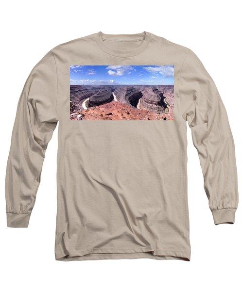 Gooseneck Bends Panorama Long Sleeve T-Shirt