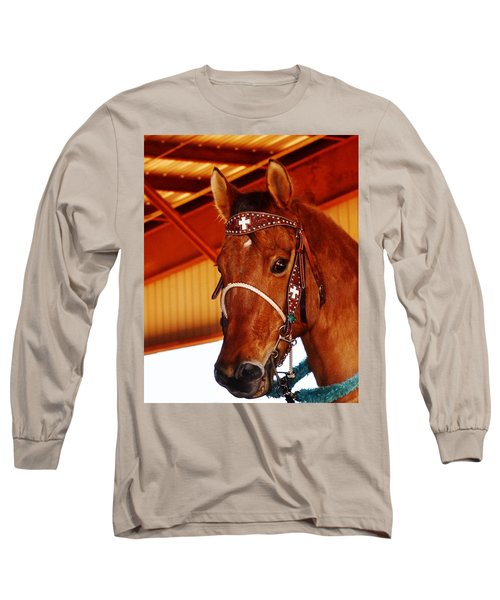 Gorgeous Horse And Bridle Long Sleeve T-Shirt