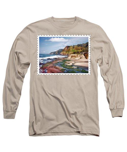 Gorgeous Oregon Coast Long Sleeve T-Shirt