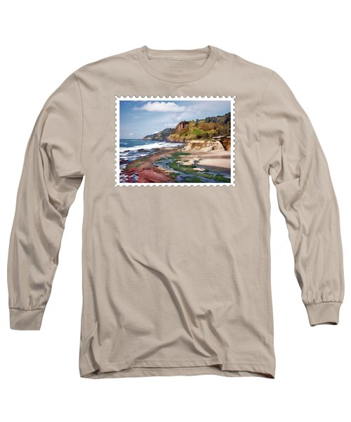 Gorgeous Oregon Coast Long Sleeve T-Shirt