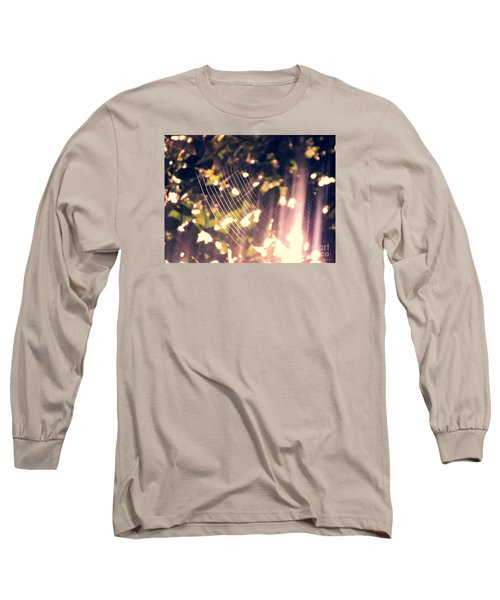 Long Sleeve T-Shirt featuring the photograph Gossamer Glow by Megan Dirsa-DuBois