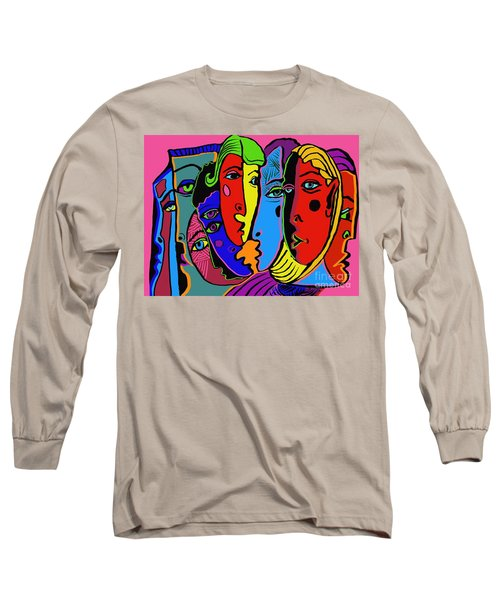 Gossip Long Sleeve T-Shirt by Hans Magden