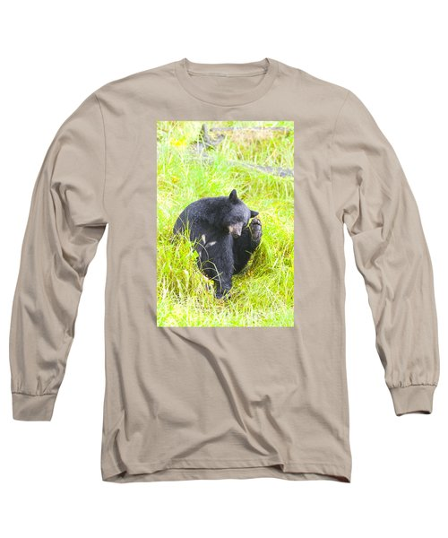 Got An Itch Long Sleeve T-Shirt by Harold Piskiel