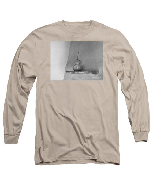 Gourd Black And White Long Sleeve T-Shirt