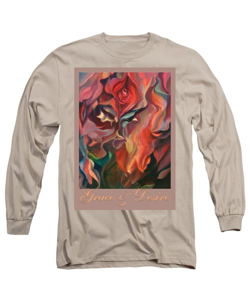 Long Sleeve T-Shirt featuring the painting Grace And Desire by Brooks Garten Hauschild