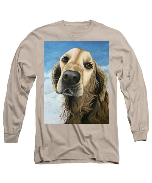 Gracie - Golden Retriever Dog Portrait Long Sleeve T-Shirt