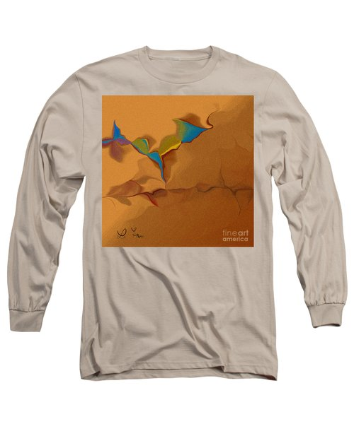 Grain In Our Dialog Long Sleeve T-Shirt