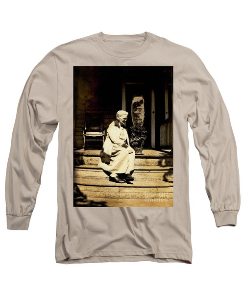 Long Sleeve T-Shirt featuring the photograph Grandma Jennie by Paul W Faust - Impressions of Light