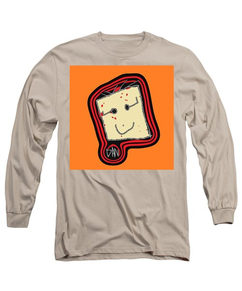 Long Sleeve T-Shirt featuring the mixed media Grandpa 3 by Andrew Drozdowicz