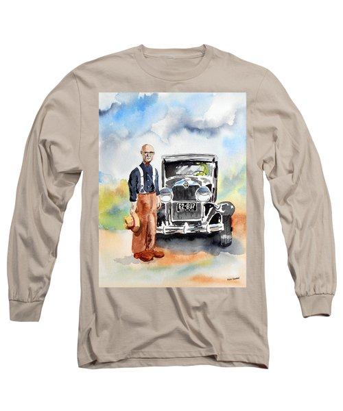 Grandpa's Chevy Long Sleeve T-Shirt