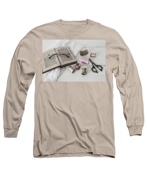Long Sleeve T-Shirt featuring the photograph Grannys Treasures by Kim Hojnacki