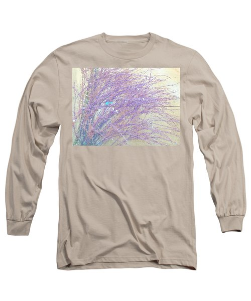 Long Sleeve T-Shirt featuring the photograph Grasses Toward The Sun by Lenore Senior