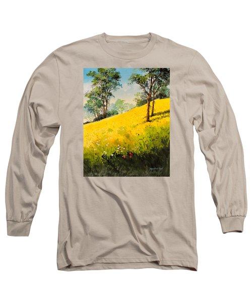 Grassy Hillside II Long Sleeve T-Shirt