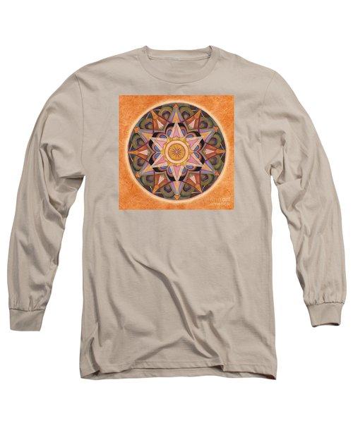 Gratitude Mandala Long Sleeve T-Shirt