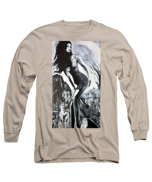 Gray Desert Long Sleeve T-Shirt