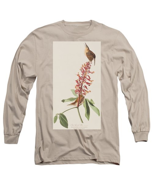 Great Carolina Wren Long Sleeve T-Shirt