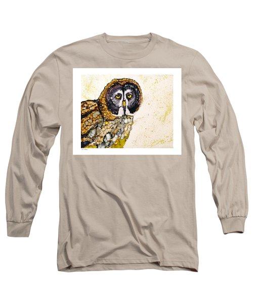 Great Grey Long Sleeve T-Shirt