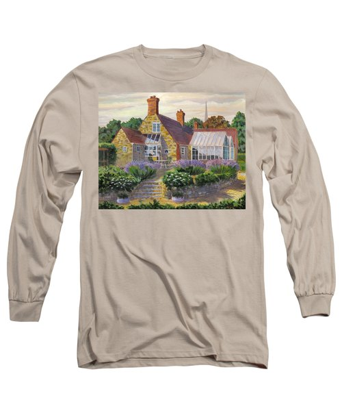 Great Houghton Cottage Long Sleeve T-Shirt by David Gilmore