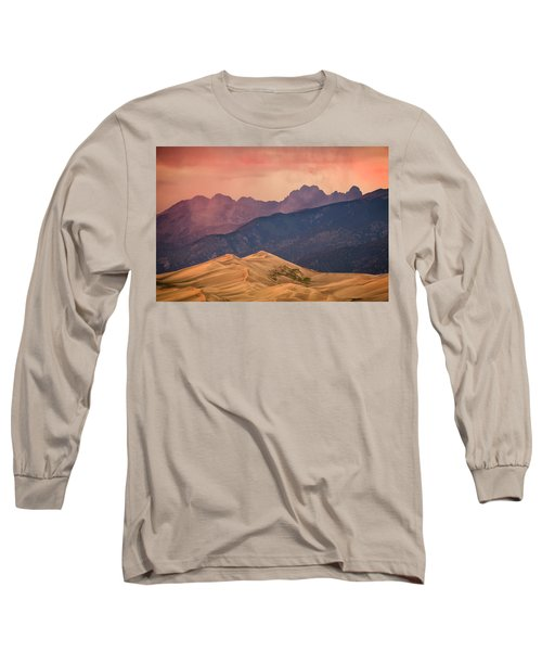 Great Sand Dunes Colorado Long Sleeve T-Shirt