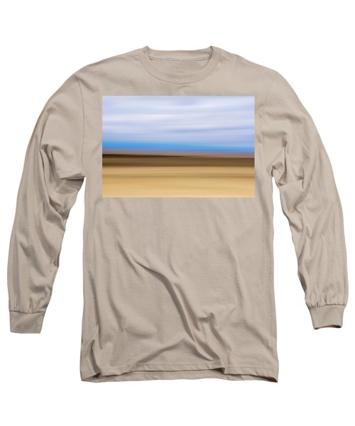 Long Sleeve T-Shirt featuring the mixed media Great Sand Dunes by Shara Weber