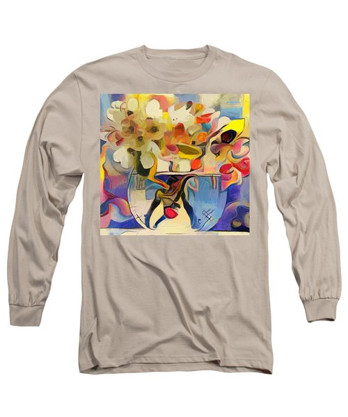 Greek Flowers Long Sleeve T-Shirt