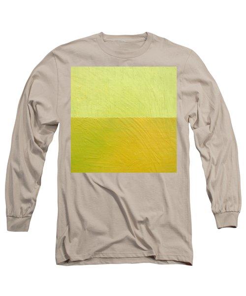 Green And Greenish Long Sleeve T-Shirt